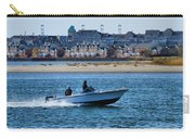 Boating In New York Harbor Carry-all Pouch by Dan Sproul