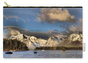 Boating In The Tetons Carry-all Pouch by Dan Sproul