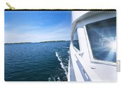 Boating On Lake Carry-all Pouch by Elena Elisseeva