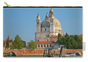 Boating Past Basilica Di Santa Maria Della Salute  Carry-all Pouch