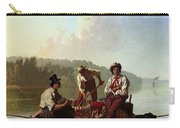 Boatmen On The Missouri Carry-all Pouch