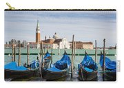 Boats Anchored At Marina Venice, Italy Carry-all Pouch