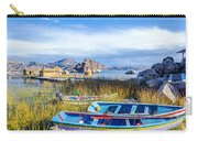 Boats And Floating Islands Carry-all Pouch
