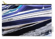 Boats And Reflections Carry-all Pouch