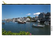 Boats At A Harbor, Nantucket Carry-all Pouch
