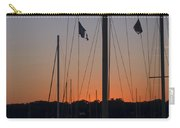 Boats At Beaufort Carry-all Pouch