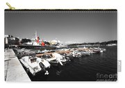 Boats At Brindisi Carry-all Pouch