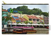Boats At Clarke Quay Singapore River Carry-all Pouch