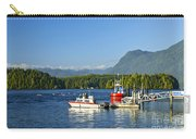 Boats At Dock In Tofino Carry-all Pouch