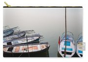 Boats At Sangam Carry-all Pouch