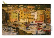 Boats At The Harbor, Camogli, Liguria Carry-all Pouch