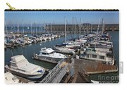 Boats At The San Francisco Pier 39 Docks 5d26004 Carry-all Pouch