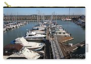 Boats At The San Francisco Pier 39 Docks 5d26005 Carry-all Pouch