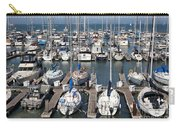 Boats At The San Francisco Pier 39 Docks 5d26009 Carry-all Pouch