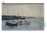 Boats In A Harbour Carry-all Pouch