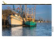 Boats In Blue Carry-all Pouch