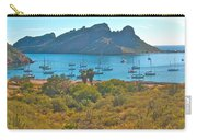 Boats In San Carlos Harbor-sonora-mexico Carry-all Pouch