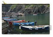 Boats In Vernazza Carry-all Pouch