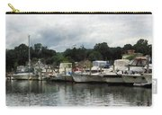 Boats On A Cloudy Day Essex Ct Carry-all Pouch