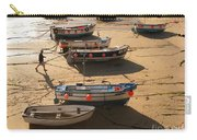 Boats On Beach Carry-all Pouch