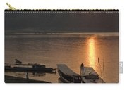 Boats On River By Luang Prabang Laos  Carry-all Pouch