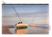 Accidentally - Boats On The Beach Carry-all Pouch