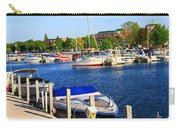Boats On The Dock Traverse City Carry-all Pouch