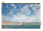 Boats On The Red Sea Coast Carry-all Pouch