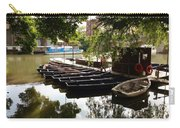 Boats On The Thames River Oxford England Carry-all Pouch