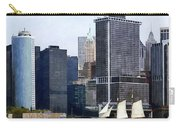 Boats - Schooner Against The Manhattan Skyline Carry-all Pouch