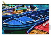 Boats Snuggling - Sicily Carry-all Pouch
