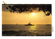 Boats Under The Hawaiian Sunset Carry-all Pouch