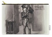 Bob Cratchit And Tiny Tim Carry-all Pouch
