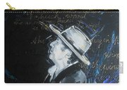 Bob Dylan - Blowing In The Wind Carry-all Pouch