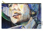 Bob Dylan Tangled Up In Blue Carry-all Pouch by Joshua Morton