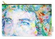 Bob Dylan Watercolor Portrait.3 Carry-all Pouch