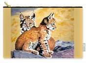 Bob Kittens Carry-all Pouch by Phyllis Kaltenbach