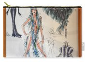 Bob Mackie Design Carry-all Pouch