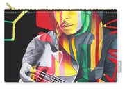Bob Marley And Rasta Lion Carry-all Pouch