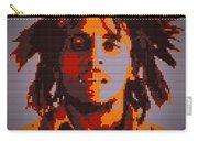 Bob Marley Lego Pop Art Digital Painting Carry-all Pouch