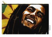 Bob Marley Rastafarian Carry-all Pouch