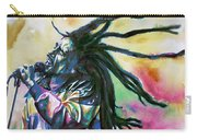 Bob Marley Singing Portrait.1 Carry-all Pouch