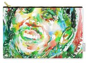 Bob Marley Watercolor Portrait.2 Carry-all Pouch