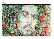 Bob Marley Watercolor Portrait.3 Carry-all Pouch