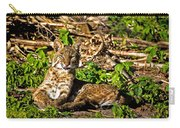 Bobcat At Sunset Carry-all Pouch