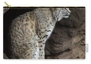 Bobcat Carry-all Pouch by Bob Christopher