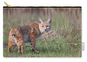 Bobcat Glance Carry-all Pouch