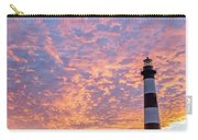Bodie Island Lighthouse At Sunrise Vetical Carry-all Pouch