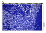 Bogota Street Map - Bogota Colombia Road Map Art On Colored Back Carry-all Pouch