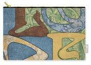 Bohemian Love Carry-all Pouch by Debbie DeWitt